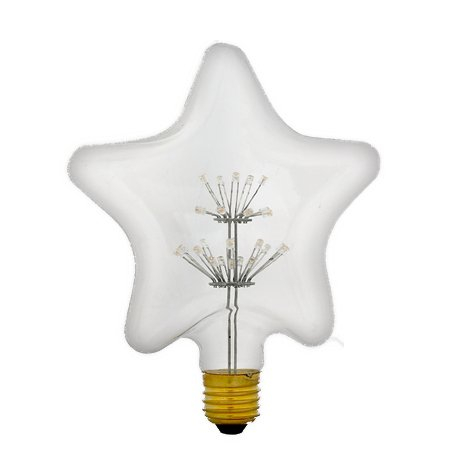 Clear Five Angle led firework bulb